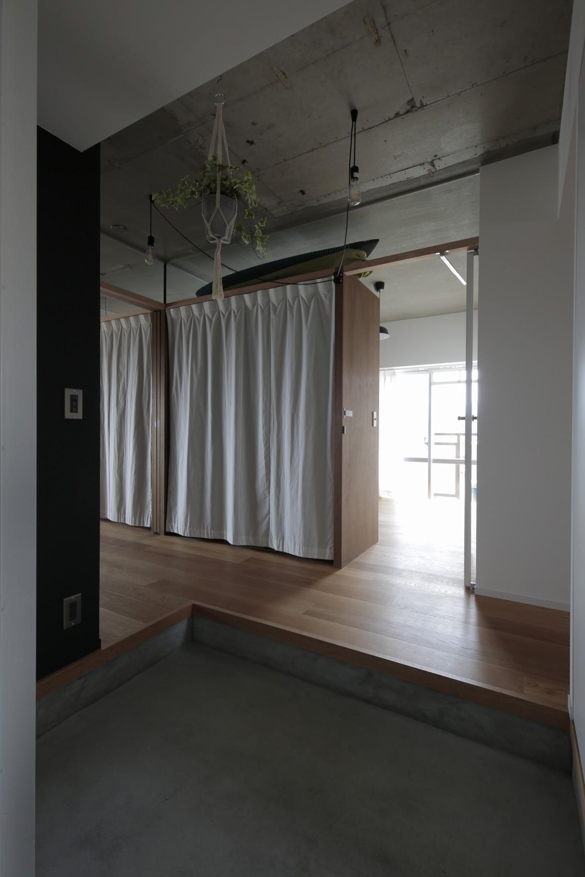 玄関事例:玄関(高槻のマンションリフォーム)