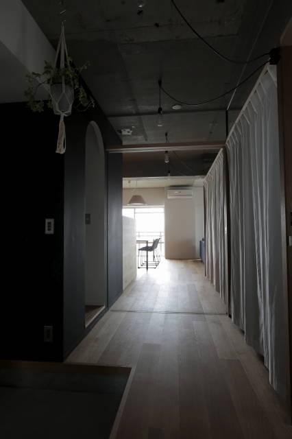 収納事例:廊下(高槻のマンションリフォーム)