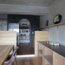 高槻のマンションリフォームの写真 ダイニングキッチン