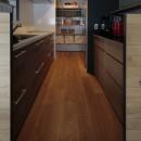 高槻のマンションリフォームの写真 キッチン・パントリー