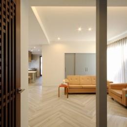 一戸建住宅デザインリフォーム ヘリンボーンスタイル