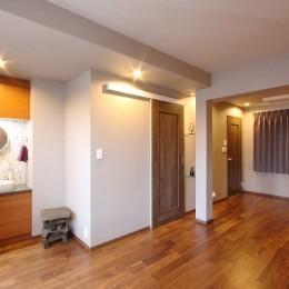 一戸建住宅デザインリフォーム ヘリンボーンスタイル (寝室)