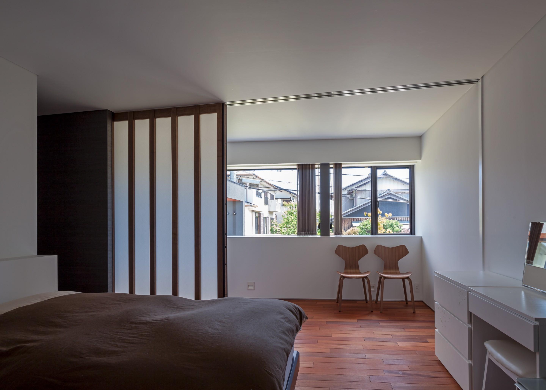 ベッドルーム事例:寝室(私たち流の心地よい家)
