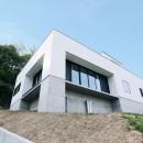 高台の家の写真 外観