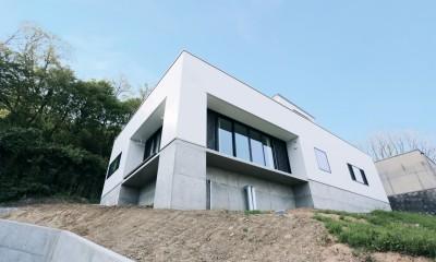 高台の家 (外観)