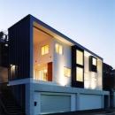 米村和夫の住宅事例「地平線の見える崖地の家」