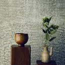 名古屋のアトリエ~マスキング塗装を施した既存コンクリート壁~の写真 マスキング塗装の壁
