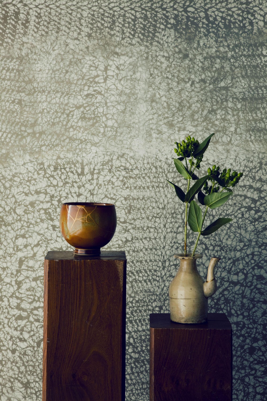 その他事例:マスキング塗装の壁(名古屋のアトリエ~マスキング塗装を施した既存コンクリート壁~)