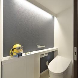 ルンバがお留守番するホテルライクな住まい (トイレ)