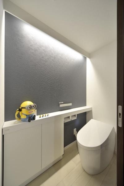 トイレ (バリアフリーでホテルライクな住まい)