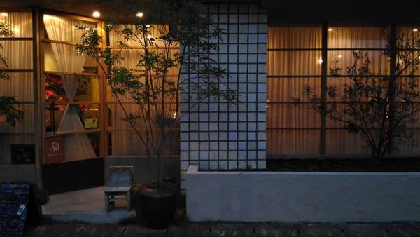 アウトドア事例:外観(annon tea house)