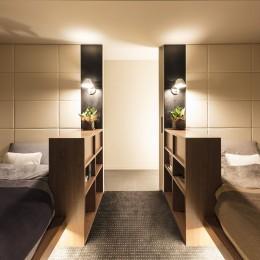 BED ROOM (穏やかに暮らせる家)