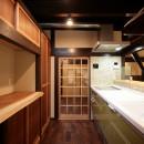 江戸時代末期の古民家再生の写真 キッチン