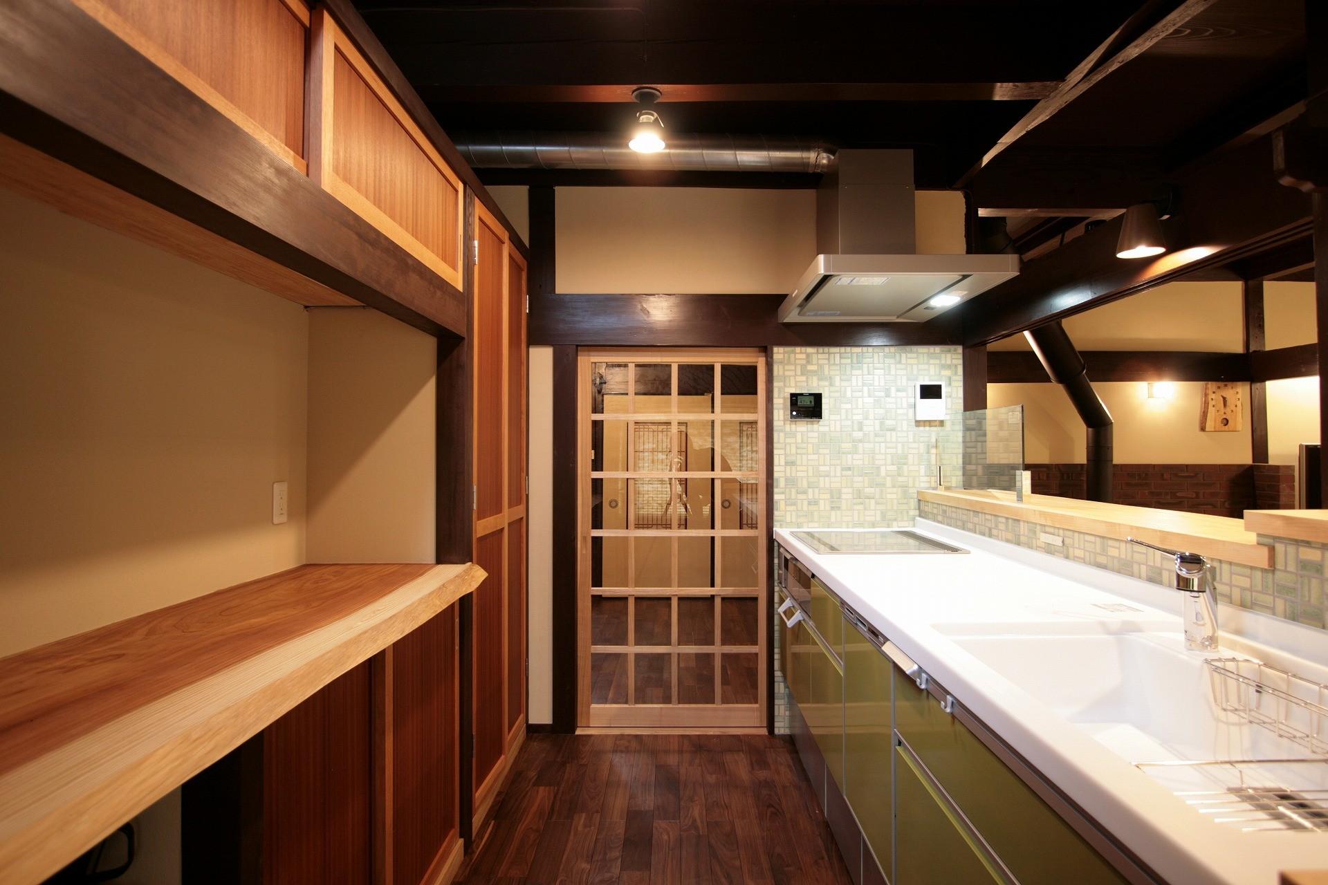 キッチン事例:キッチン(江戸時代末期の古民家再生)