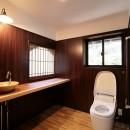 江戸時代末期の古民家再生の写真 トイレ