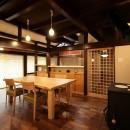 道建設の住宅事例「江戸時代末期の古民家再生」