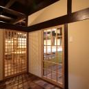 江戸時代末期の古民家再生の写真 廊下