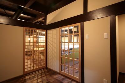 廊下 (江戸時代末期の古民家再生)