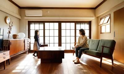 ご実家の素敵な雰囲気を活かして、地方に暮らしながらリノベーション。