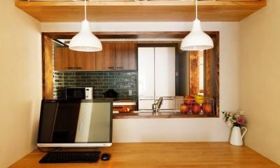 ご実家の素敵な雰囲気を活かして、地方に暮らしながらリノベーション。 (親子のコミュニケーションスペース)