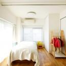 ご実家の素敵な雰囲気を活かして、地方に暮らしながらリノベーション。の写真 将来は2部屋になる子供部屋