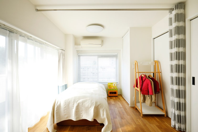 ご実家の素敵な雰囲気を活かして、地方に暮らしながらリノベーション。 (将来は2部屋になる子供部屋)