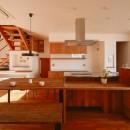 宝塚の家-private cafe-の写真 宝塚の家 ダイニングキッチン