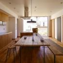 宝塚の家-private cafe-の写真 宝塚の家 ダイニングキッチン2
