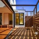 宝塚の家-private cafe-の写真 宝塚の家 ウッドテラス