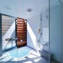 宝塚の家-private cafe-の写真 宝塚の家 浴室