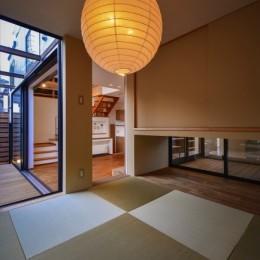 宝塚の家-private cafe- (宝塚の家 和室とウッドテラス)