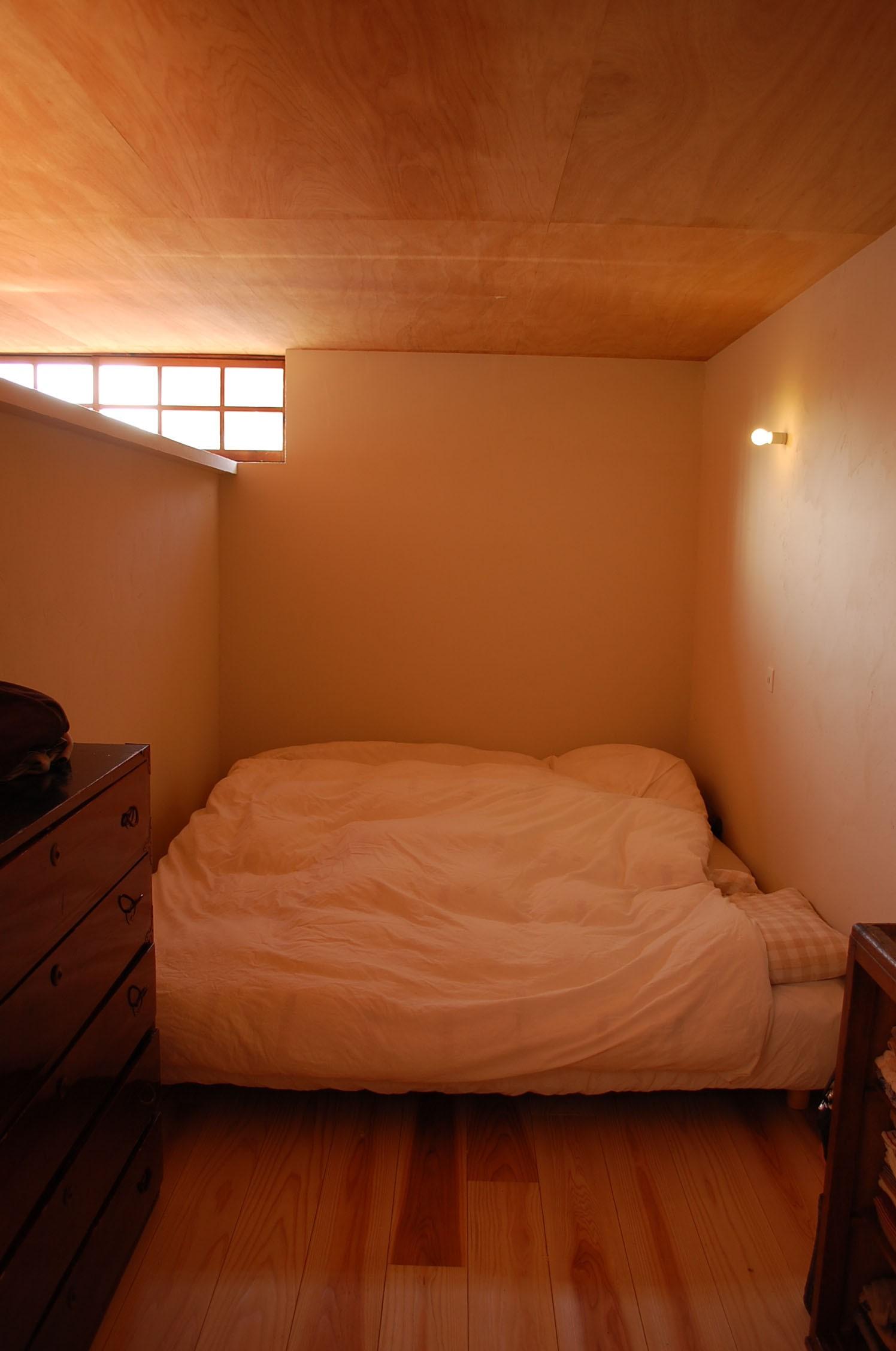 ベッドルーム事例:寝室(長良の家)
