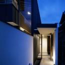 二階堂の家の写真 アプローチ
