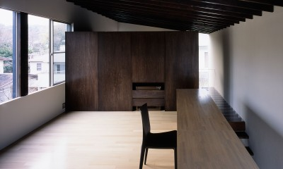 二階堂の家 (書斎)