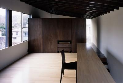 書斎 (二階堂の家)