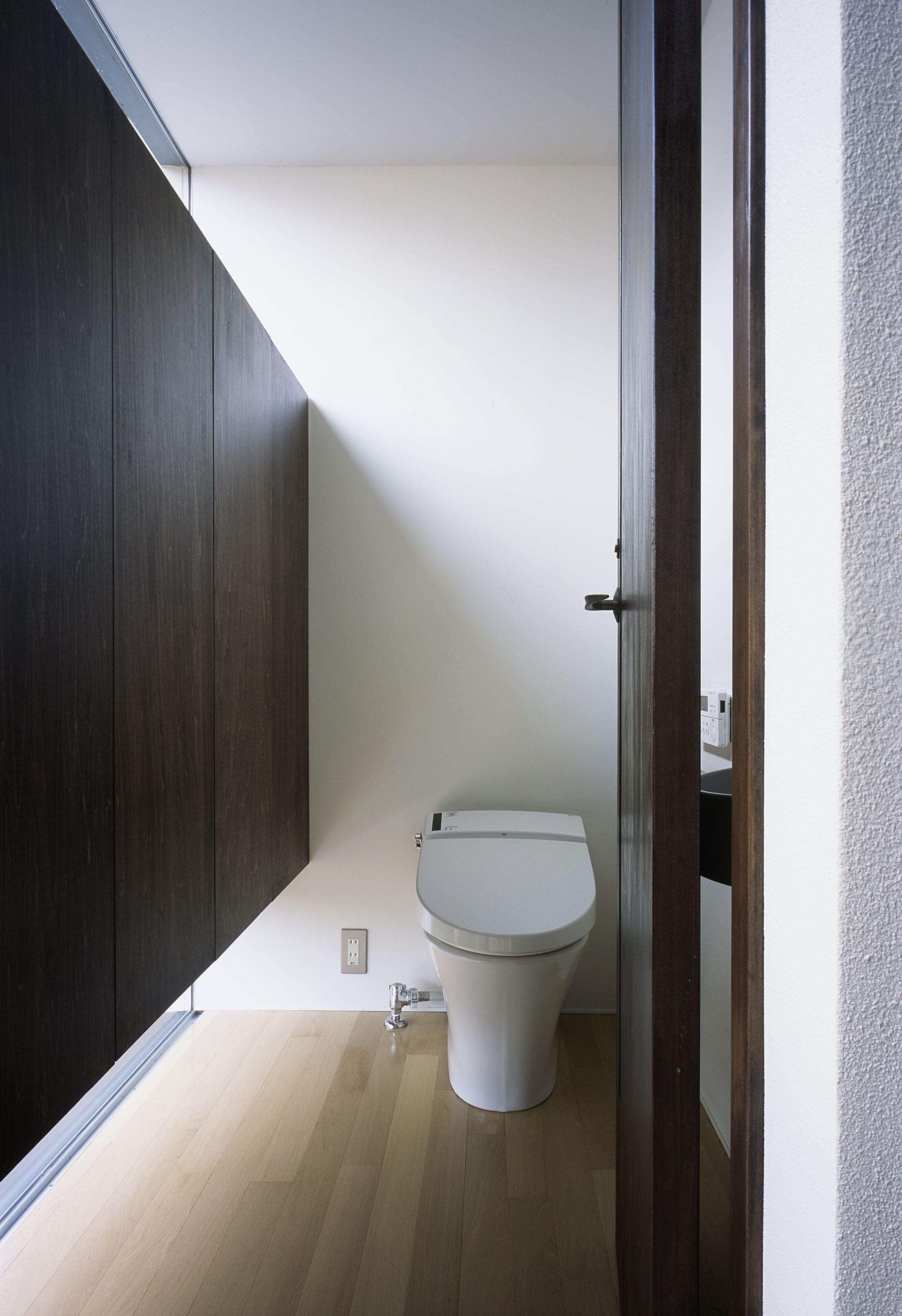 バス/トイレ事例:トイレ(二階堂の家)