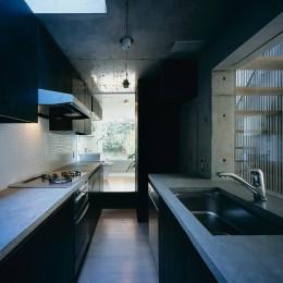 都筑の家 (キッチン)