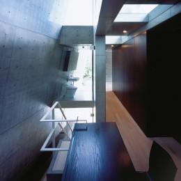 守谷の家 (階段・吹抜)