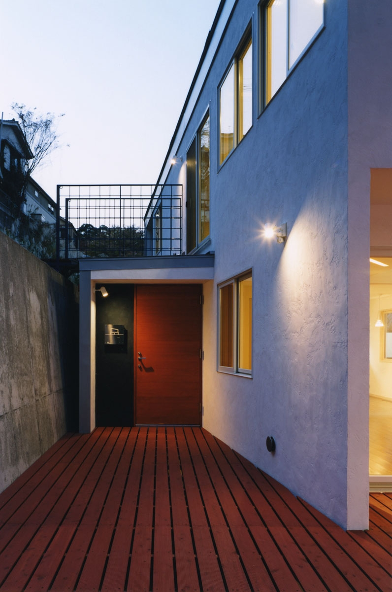 建築家:米村和夫「地平線の見える崖地の家」