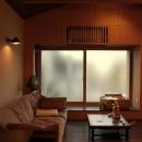 膳所城下の改装の写真 居間を見る