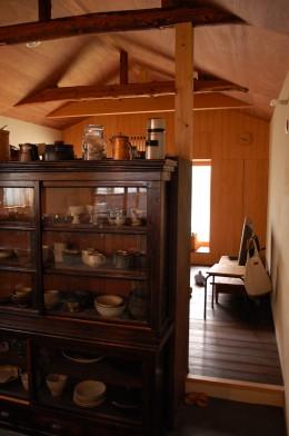 膳所城下の改装 (キッチンよりダイニングを見る。)