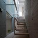 吉祥寺南町の家の写真 階段