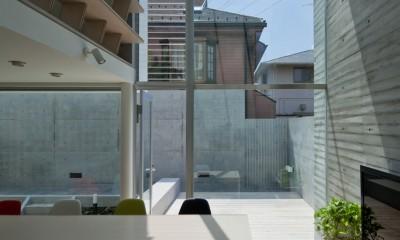 吉祥寺南町の家 (ダイニング・デッキ)