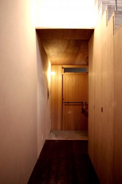 玄関を見る。 (膳所城下の改装)