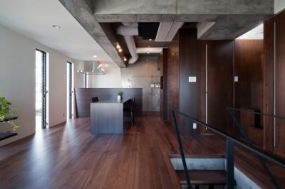 吉川の家 (ダイニング・キッチン)