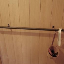 膳所城下の改装 (玄関扉のハンドル)