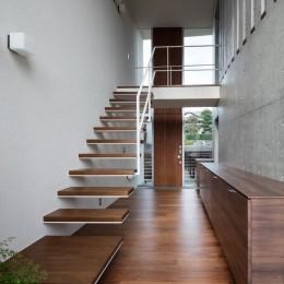 階段・吹抜 (富士宮の家)