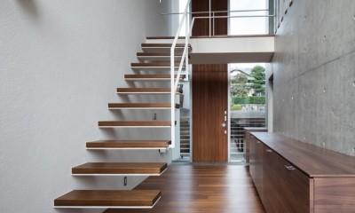 富士宮の家 (階段・吹抜)