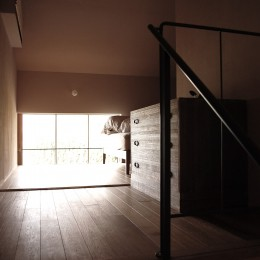 2.5階の寝室