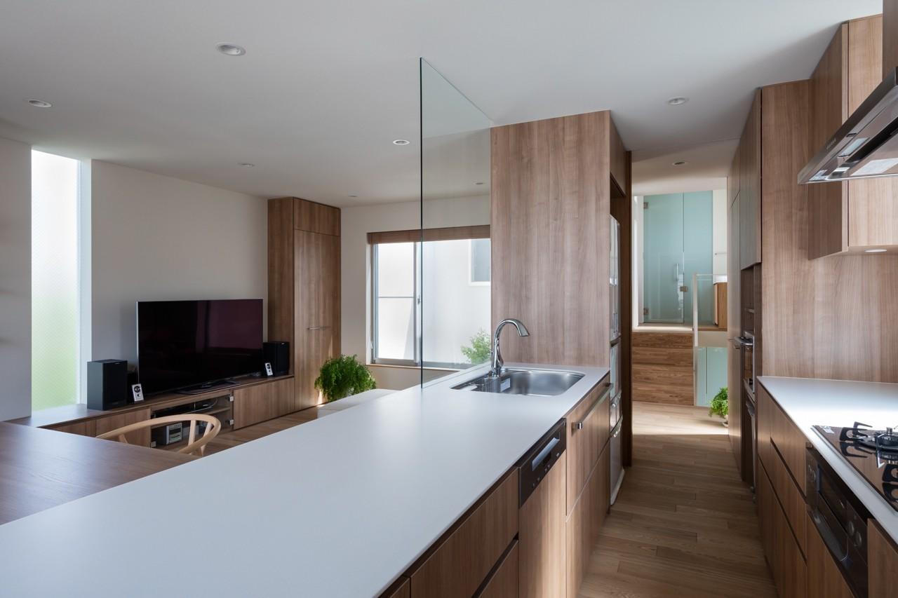 キッチン事例:キッチン(井の頭の家)
